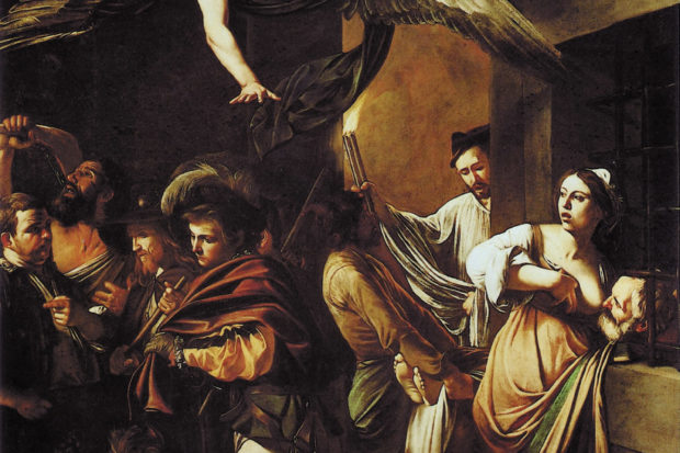 Caravaggio: <i>The Seven Acts of Mercy</i>, 1607