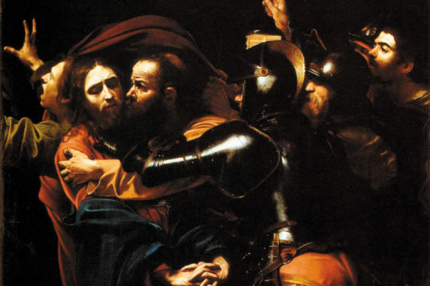 Caravaggio: <i>The Taking of Christ</i>, 1602