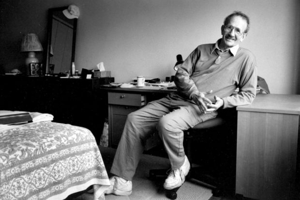 Philip Levine, New York City, September 1995; photograph by Jill Krementz