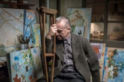 Bogusław Linda as Władysław Strzemiński  in Andrzej Wajda's Afterimage, 2016