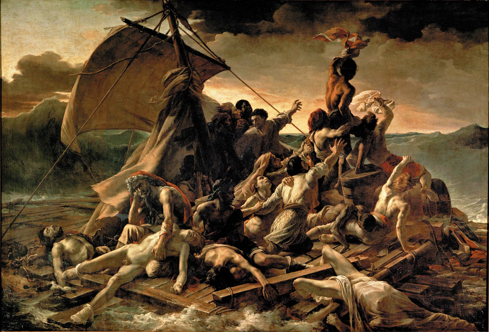 Théodore Géricault: The Raft of the Medusa, 1818–1819