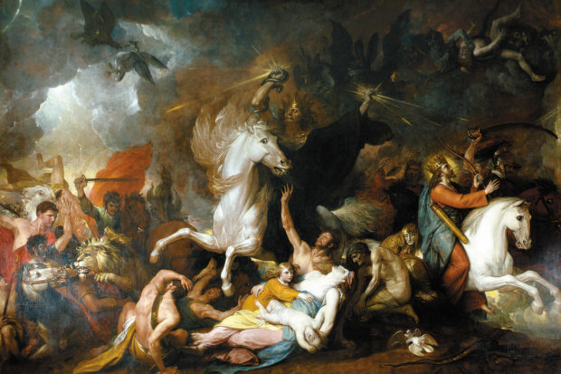 Benjamin West: <i>Death on the Pale Horse</i>, 1817