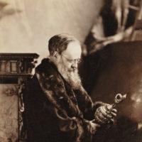 Wilkie Collins, circa 1873–1874; photograph by Napoleon Sarony