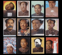 Zhang Hongtu: Chairmen Mao, 1989; from 'Zhang Hongtu: Expanding Visions of a Shrinking World,' a recent exhibition at the Queens Museum. The catalog is edited by Luchia Meihua Lee and Jerome Silbergeld and copublished by Duke University Press.
