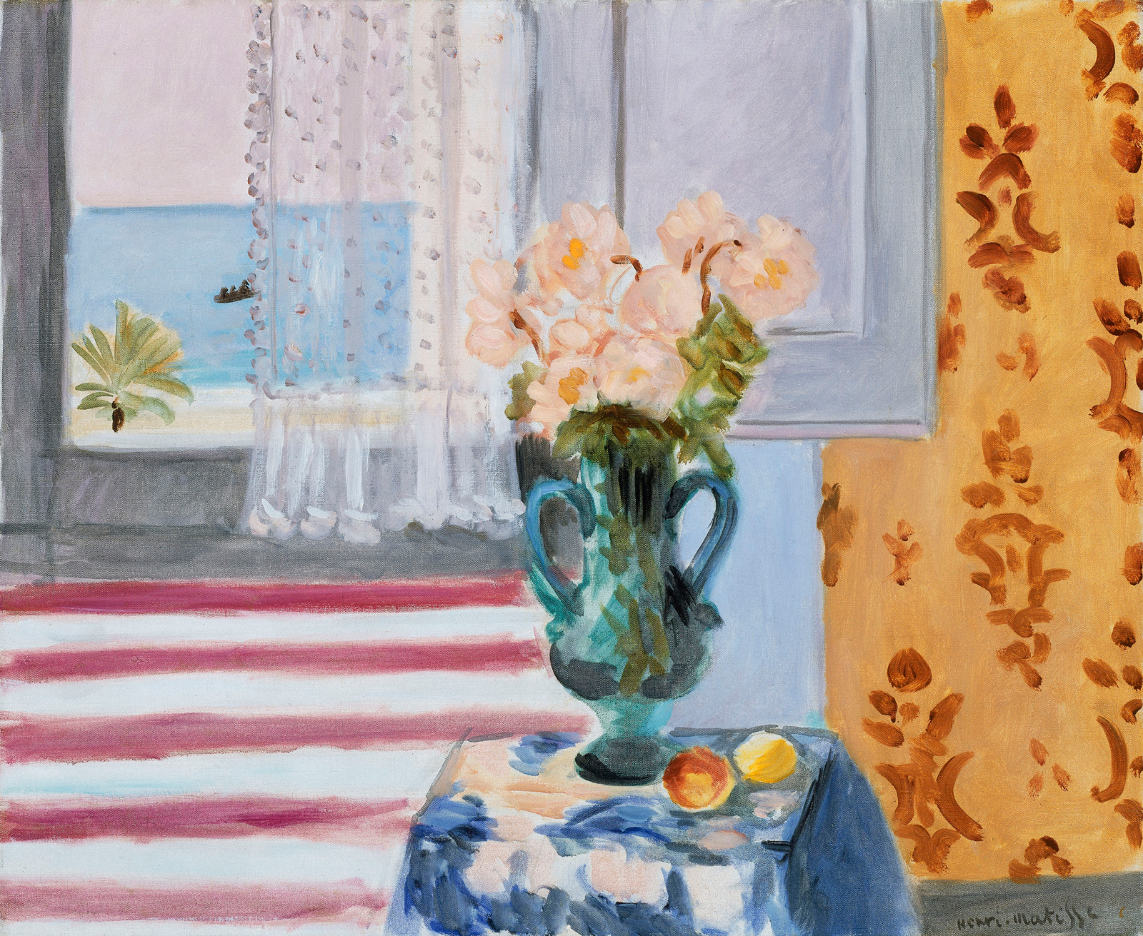 A passion for the mundane. A scuffed old bread knife, a glass vase, a coffee table — ordinary objects delighted, inspired, and confounded Matisse