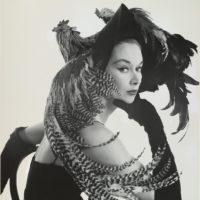 Irving Penn: Woman in Chicken Hat (Lisa Fonssagrives-Penn), 1949