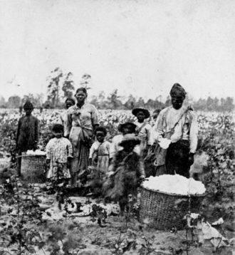 A slave family, Savannah, Georgia, early 1860s