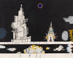 Saul Steinberg: New York Moonlight, 1974-1981