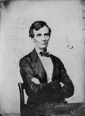 Abraham Lincoln, Springfield, Illinois, August 1860
