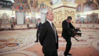 A still from The Putin Interviews, 2017