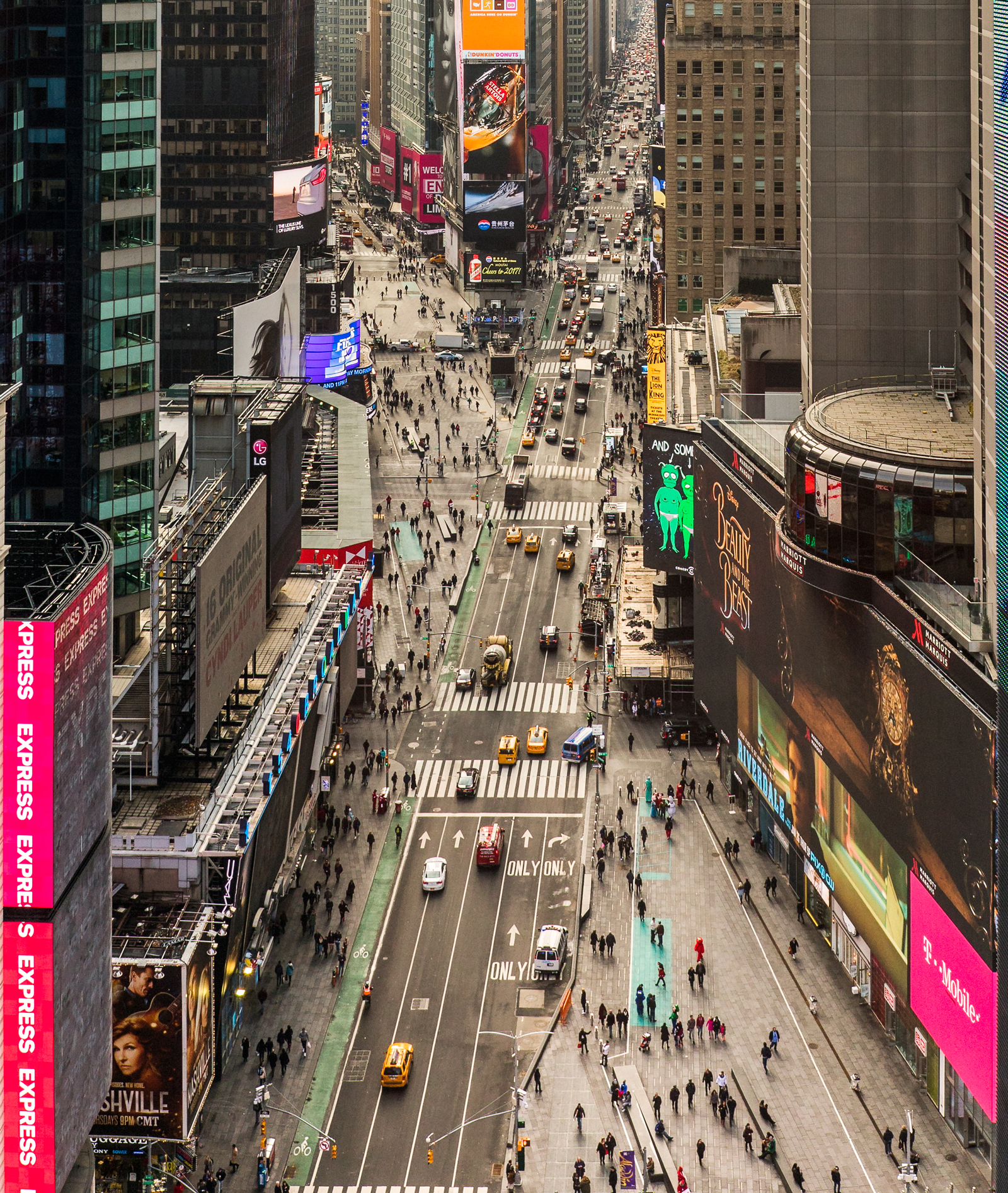 Times Square Reborn by Martin Filler NYR Daily