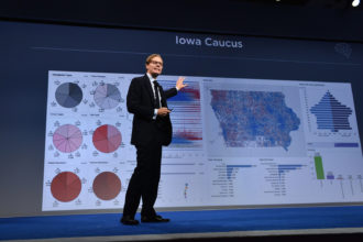 CEO of Cambridge Analytica Alexander Nix speaks at the 2016 Concordia Summit, New York City, September 19, 2016