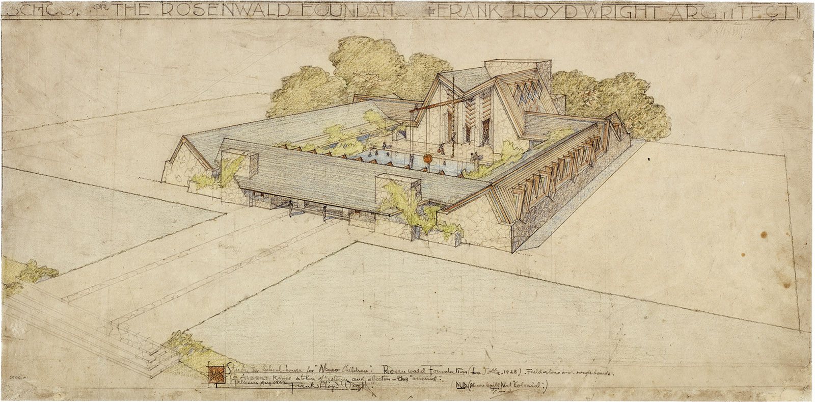 Frank Lloyd Wright Blueprints Guggenheim