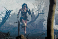 Gal Gadot in a scene from Patty Jenkins's Wonder Woman, 2017