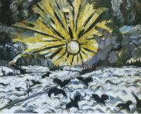 Otto Dix: Sunrise, 1913