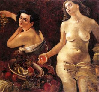 André Derain, Deux Femmes nues et nature morte, 1935