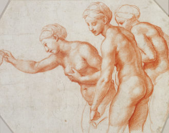 Raphael: Study for the Three Graces, 1517–1518