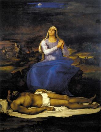 Sebastiano del Piombo: Lamentation over the Dead Christ (Pietà), circa 1512–1516