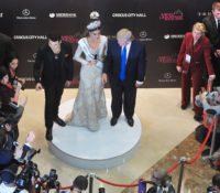 Singer Emin Agalarov, Gabriela Isler (Miss Venezuela 2013), and Donald Trump, Moscow, November 9, 2013
