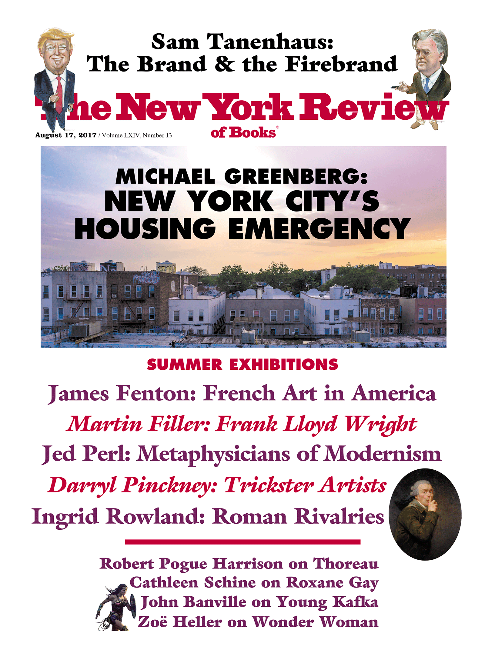 Image of the August 17, 2017 issue cover.