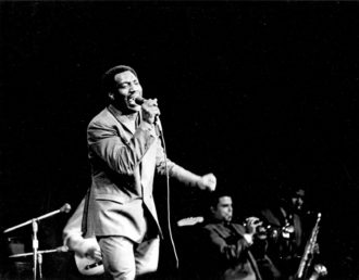 Otis Redding performing at the Monterey Pop Festival, June 1967