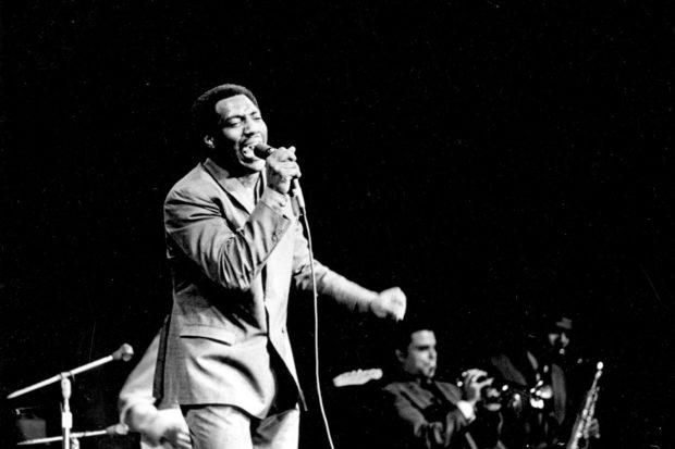 Otis Redding performing at the Monterey Pop Festival, June 1967