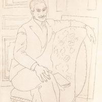 Pablo Picasso: Portrait of Paul Rosenberg, 1918–1919