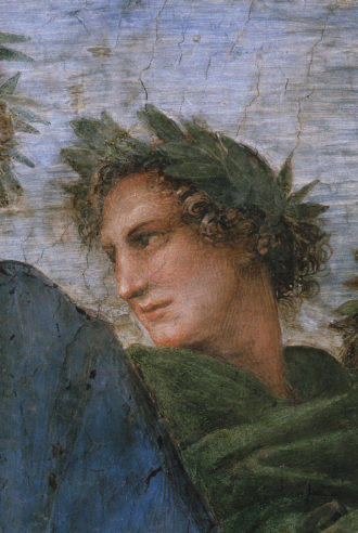 Virgil; detail from Raphael's The Parnassus, circa 1511