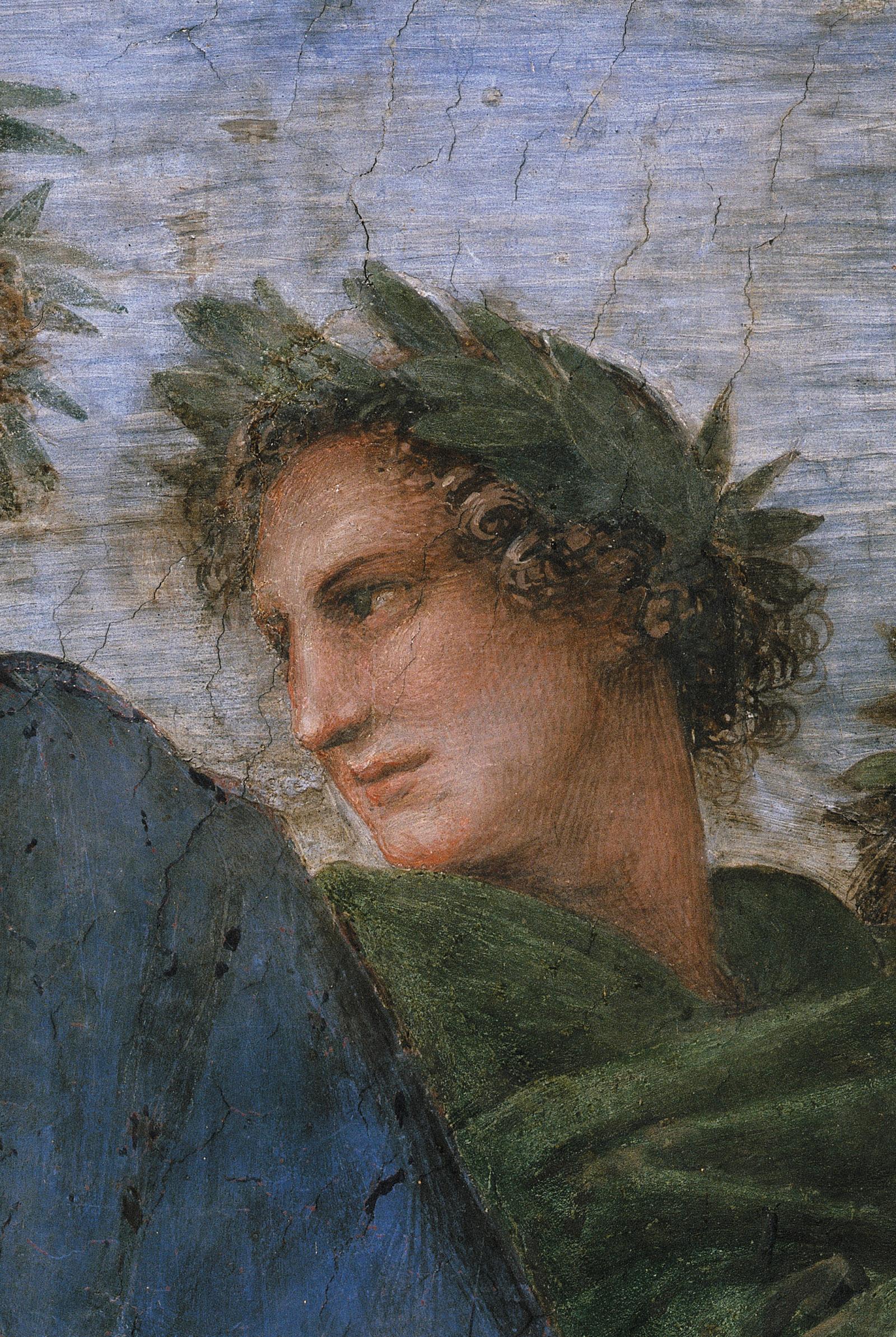 Virgil; detail from Raphael's The Parnassus, circa 1511