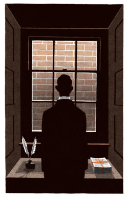 Illustration by Bill Bragg from The Folio Society edition of The Complete Shorter Fiction by Herman Melville