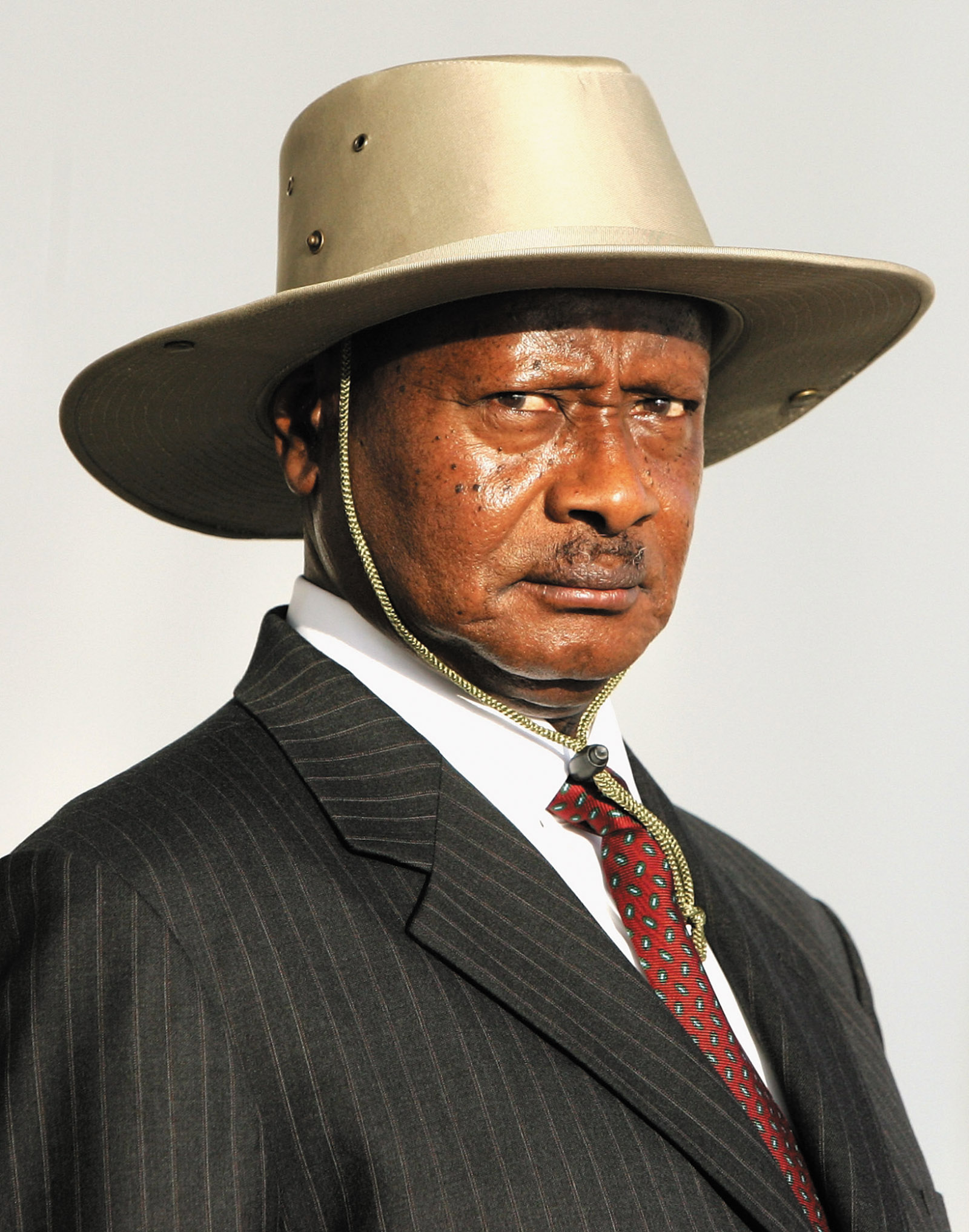 President Yoweri Museveni, Entebbe, Uganda, November 2007