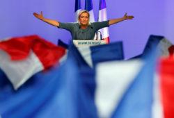 Marine Le Pen, French National Front party leader,  Frejus, France, September 18, 2016