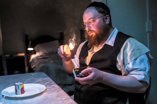 Menashe Lustig in Joshua Z. Weinstein's film <i>Menashe</i>