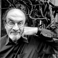 Salman Rushdie, New York City, 2005; photograph by Bruce Davidson