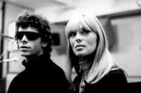 Lou Reed and Nico at Scepter Studios during the recording of the Velvet Underground's first album, New York City, 1966