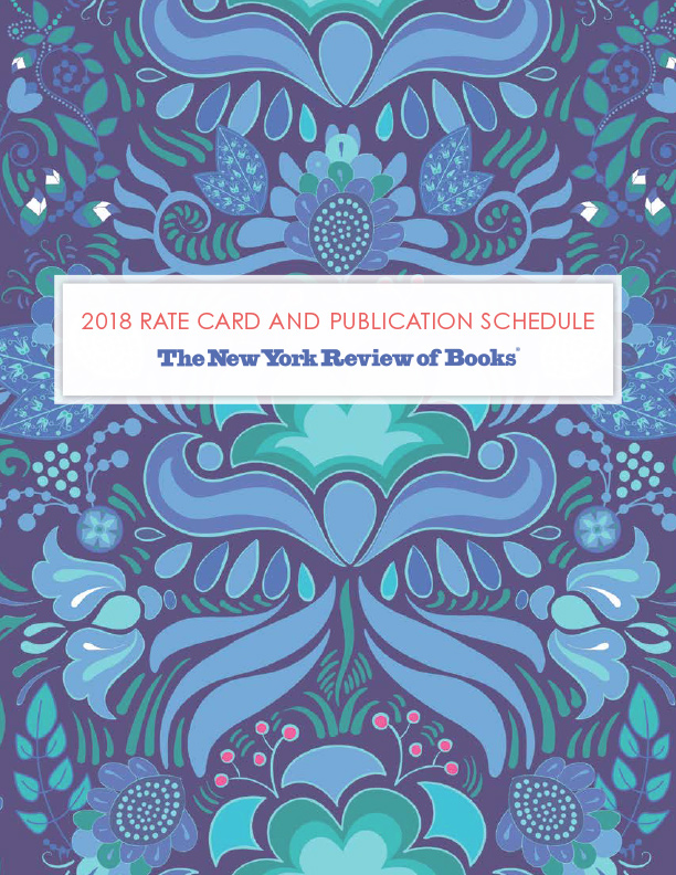 2018 Rate Card and Publication Schedule