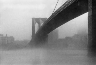 Brooklyn Bridge, New York, City, 1986