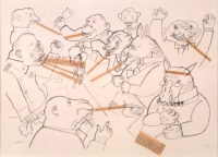 George Grosz: Voice of the People, Voice of God, 1920