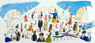 Maira Kalman: New York, Grand Central Station, 1999