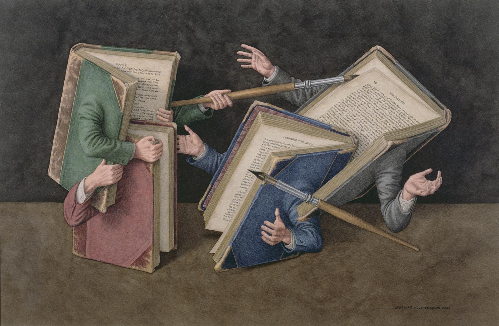 Jonathan Wolstenholme: A Literary Joust, 2006