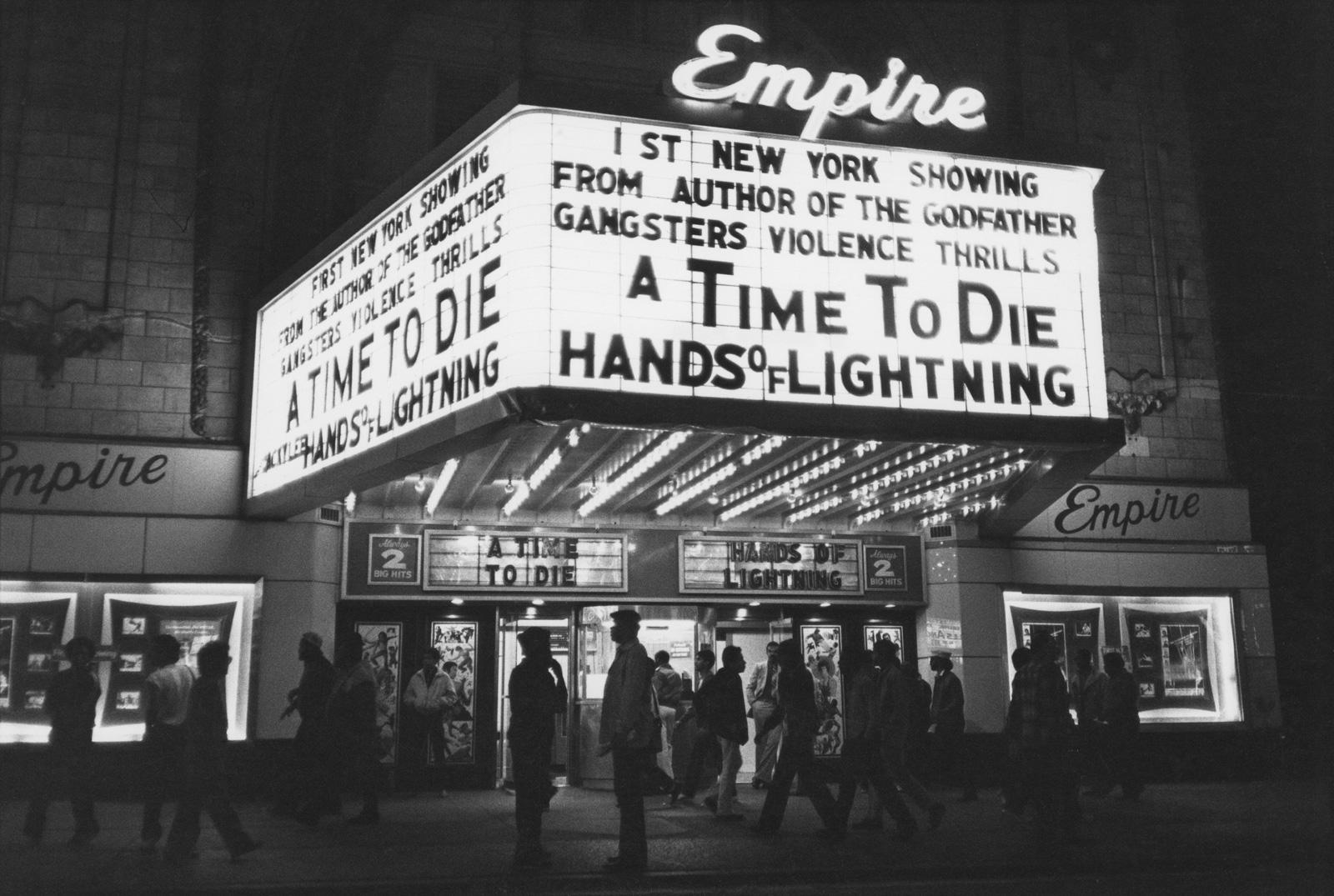 Empire cinema, New York City, 1983