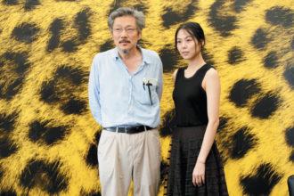 Hong Sang-soo and Kim Min-hee, Locarno, Switzerland, August 2015