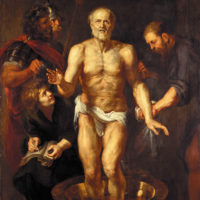 Peter Paul Rubens: The Death of Seneca, circa 1612–1613