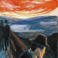 Edvard Munch: Sick Mood at Sunset: Despair, 1892