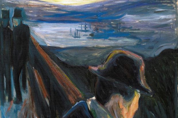 Edvard Munch: <i>Sick Mood at Sunset: Despair</i>, 1892