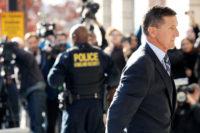 Former national security adviser Michael Flynn at his plea hearing in Washington, D.C., December 1, 2017