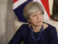 British Prime Minister Theresa May in Downing Street, London, December 5