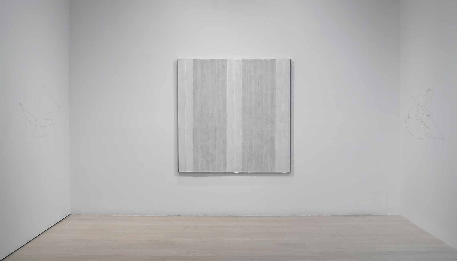 Agnes Martin Richard Tuttle And The Line Between By