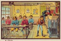 At School in the Year 2000, circa 1910