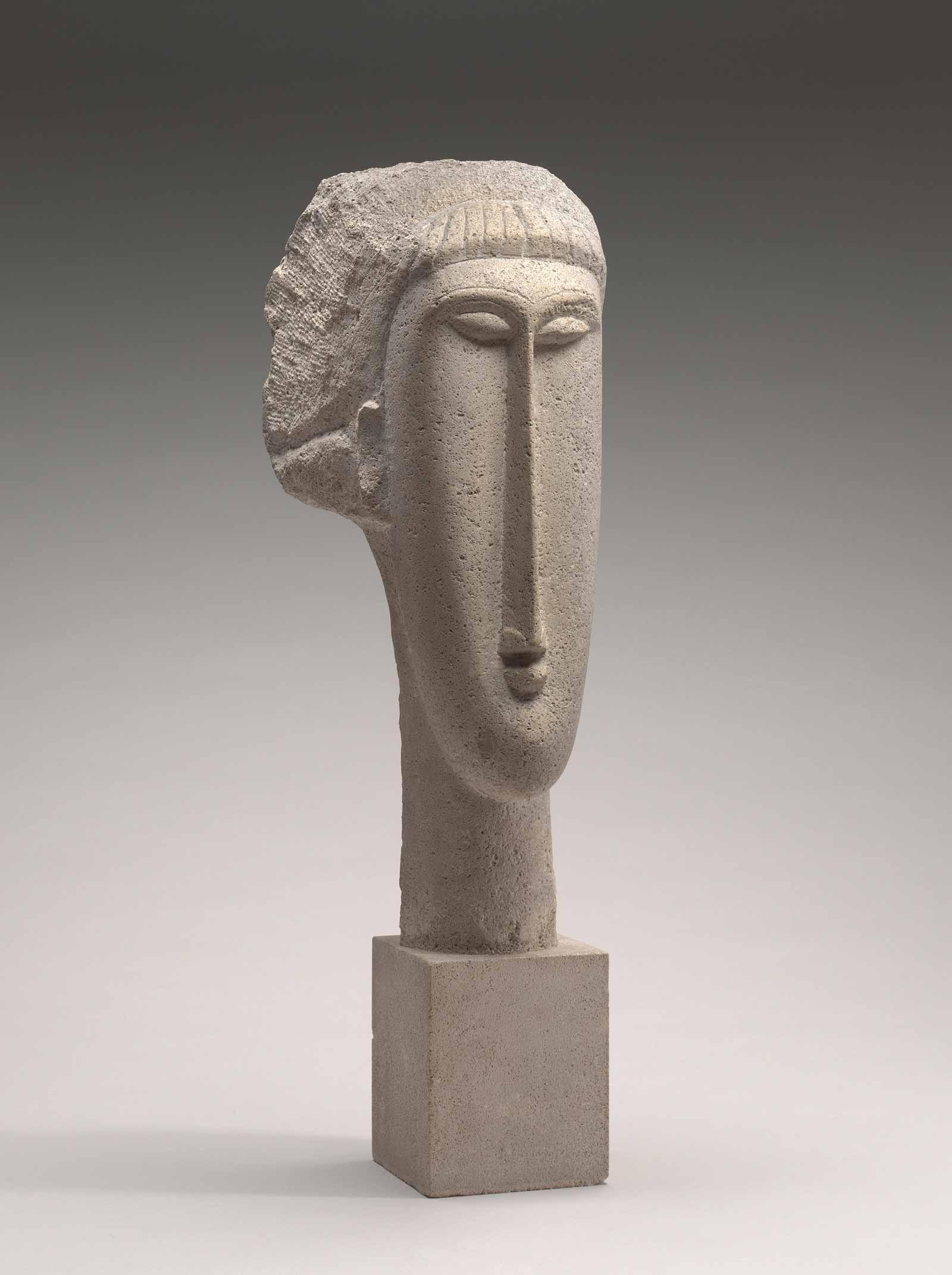 modigliani-head-sculpture